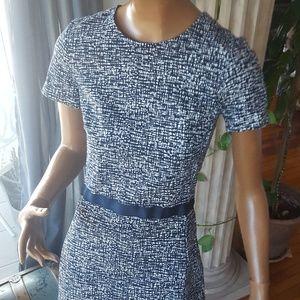 Gap dress navy blue & white Gap sz 0